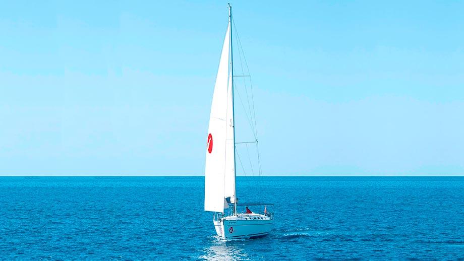 White Tenerife Sailboats